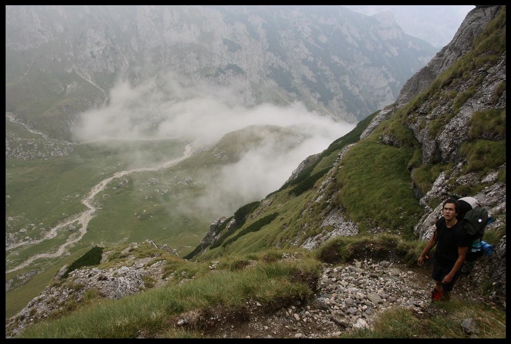 Traseul de la Brana Caprelor