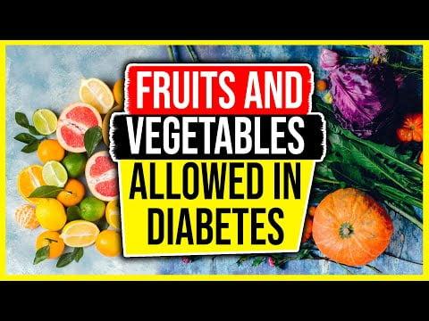 Top fructe recomandate pentru diabetici